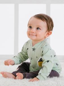 JOY MORE婴幼装青色星星外套