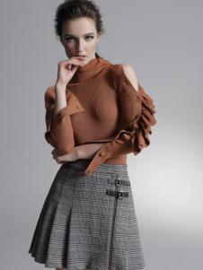 红贝缇毛衣