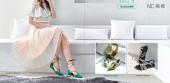 NC(南希)日韩潮流鞋类品牌诚邀你的加盟