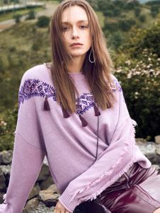 2018ibudu伊布都紫色卫衣