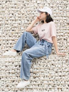 LIULIU MO刘刘墨新款时尚牛仔裤