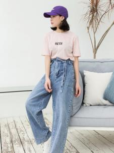 LIULIU MO刘刘墨新款气质休闲圆领T恤