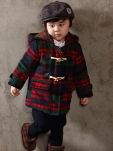 蓓拉迪诺童装时尚带帽外套