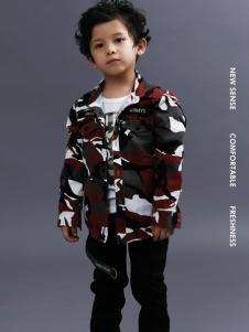 2018YukiSo男童印花外套