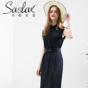 这个夏天穿上小黑裙,Saslax莎斯莱思让她你轻松成为时尚的风向标