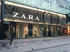 ZARA全球市场份额超H&M列第1,优衣库第5