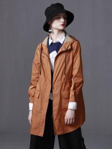 子容橘黄色外套