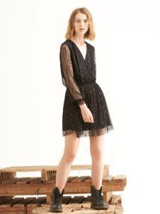 TheKorner黑色短裙