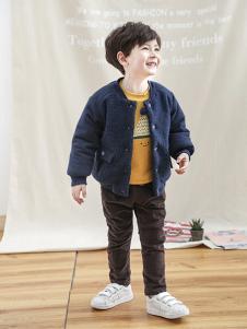 兔子杰罗童装2018秋季新款圆领时尚男童外套