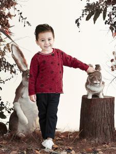 兔子杰罗秋季新品水貂绒波点款外套短款