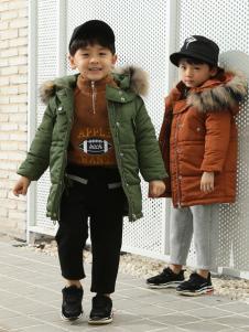 Apple Orange男童18羽绒服