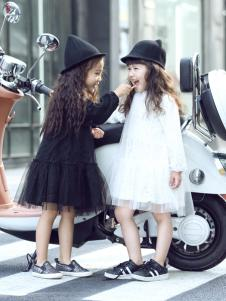 Apple Orange童装女童18连衣裙