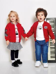 铅笔俱乐部秋冬新款红色外套