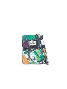 皮创文化油画系列手机包