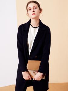 樊羽女装18黑色外套