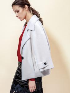 蔓露卡秋季新款时尚气质短款大衣