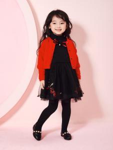 嗒嘀嗒秋冬新款蕾丝裙