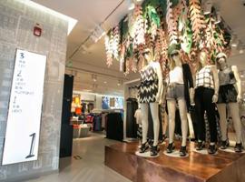 H&M模特服装宣传照不P图 保留真实获点赞