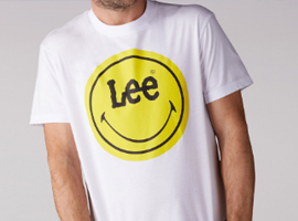 Lee联手黄色笑脸品牌授权公司 亚洲市场获巨大成功