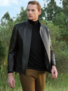 卡度尼男装黑色夹克