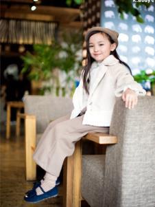K.Body°C童装白色休闲外套
