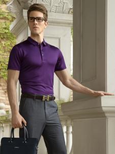 卡度尼男装商务休闲POLO衫
