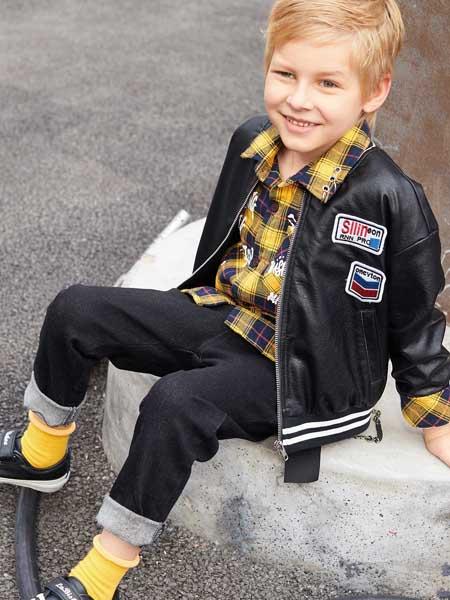童戈童装时尚休闲简约男童外套