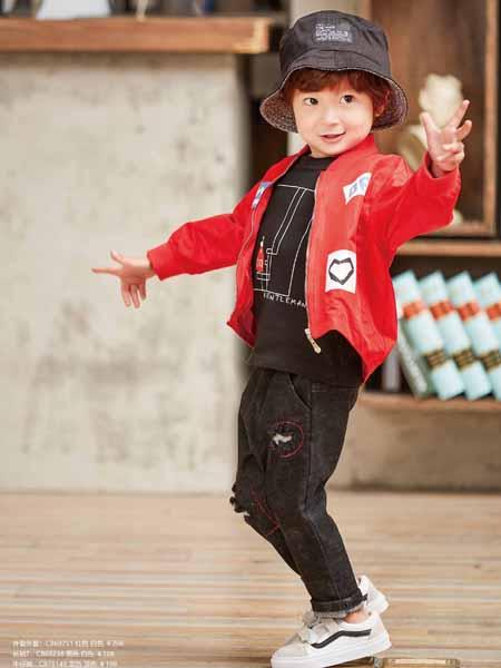 童戈童装新款欧式时尚简约外套