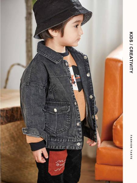 童戈童装时尚休闲简约小童牛仔外套
