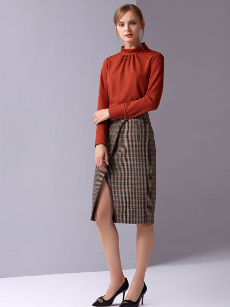JANE STORY格子裙