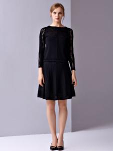 JANE STORY黑色连衣裙