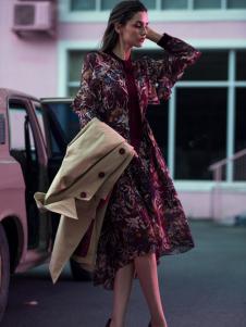 Carmen卡蔓 秋季新款连衣裙