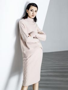 ECA女装18米色毛衣