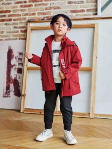 童戈童装欧式时尚简约长外套