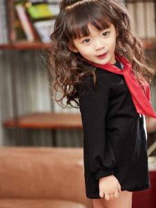 童戈童装新款欧式时尚简约连衣裙