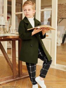 童戈童装时尚休闲简约大衣