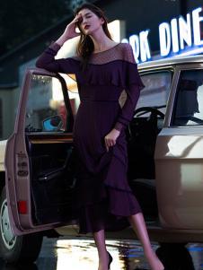 Carmen卡蔓长款连衣裙