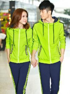 奥奔努嫩绿色时尚套装