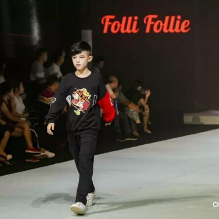 FolliFollie强势来袭东盟少儿时尚周