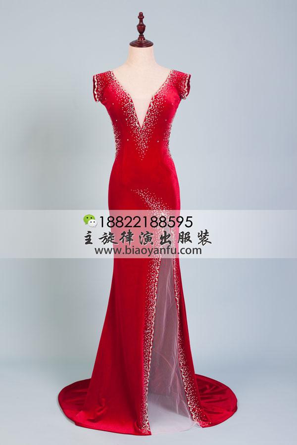 主旋律品牌女式晚礼服一手货源供应