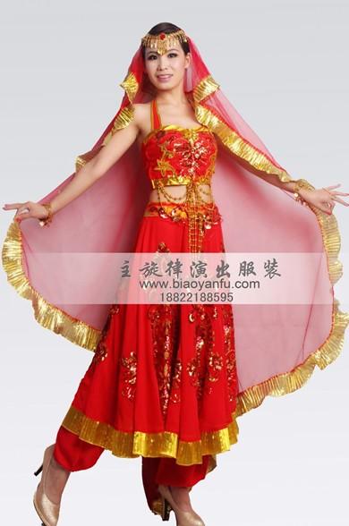 主旋律品牌印度舞蹈服装出租供应