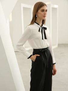 欧米媞女装新款新款秋冬新款简约百搭休闲衬衫