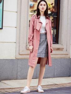 YOSUM衣诗漫女装新款时尚修身显瘦风衣