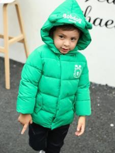 童衣汇童装女童绿色外套