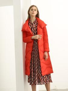 欧米媞女装新款秋冬新品羊毛双面呢大衣高腰显瘦呢子外套