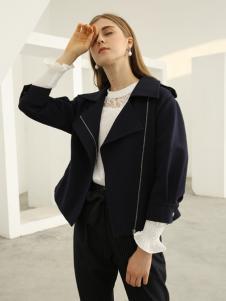欧米媞女装新款秋冬小西装外套女一粒扣西服