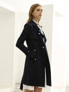 欧米媞女装新款秋冬韩版中长款修身显瘦大码风衣潮