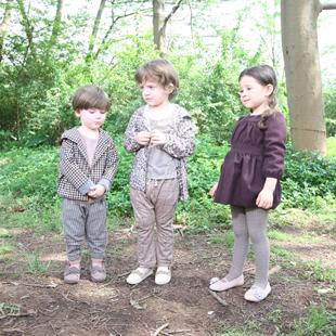 服纺类早期教育童装品牌CHERISHFOREVER简称CF