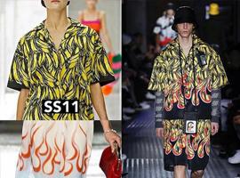 Prada重现经典香蕉印花衬衫 只要情怀讲得好