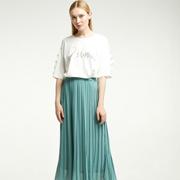 薄荷绿的裙子怎么选?凡恩女装给予你想要的柔美浪漫!